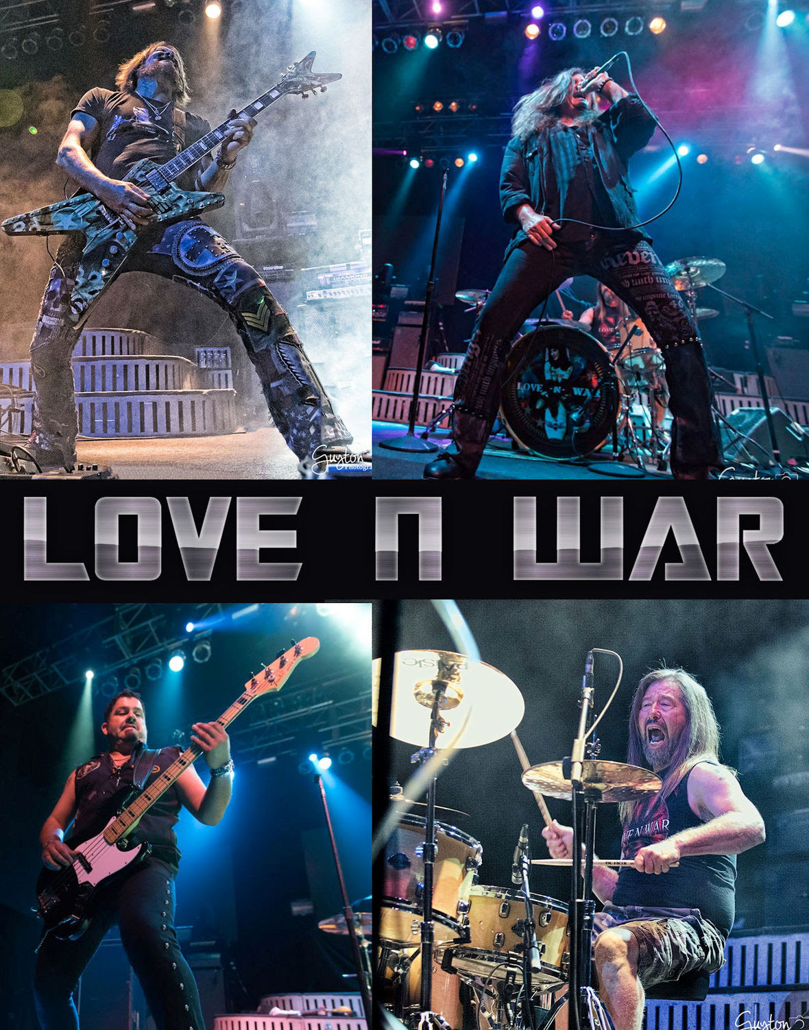 Love N War 2017 live poster