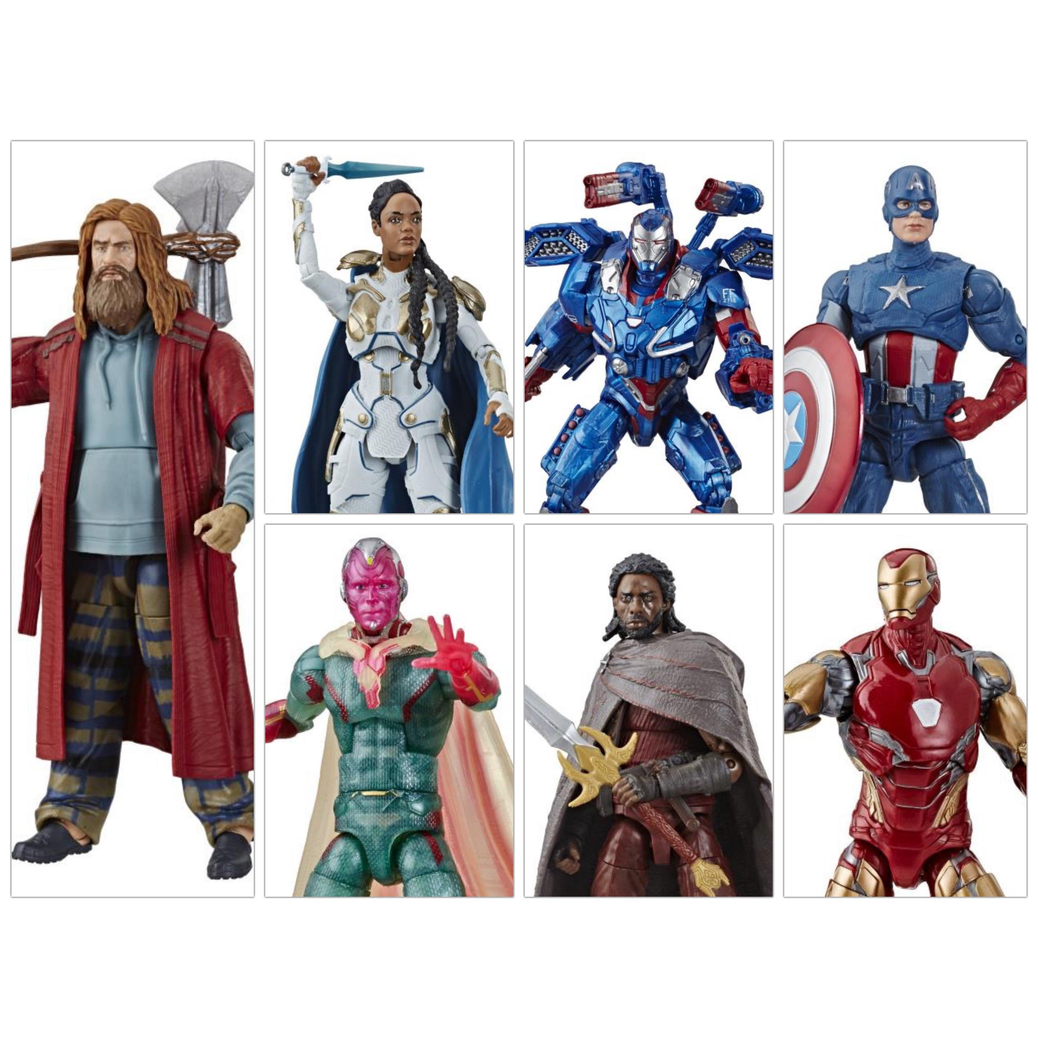 Image of Avengers: Endgame Marvel Legends 6-Inch Action Figures Wave 3 (Fat Thor BAF) - Set of 6 (RE-STOCK)