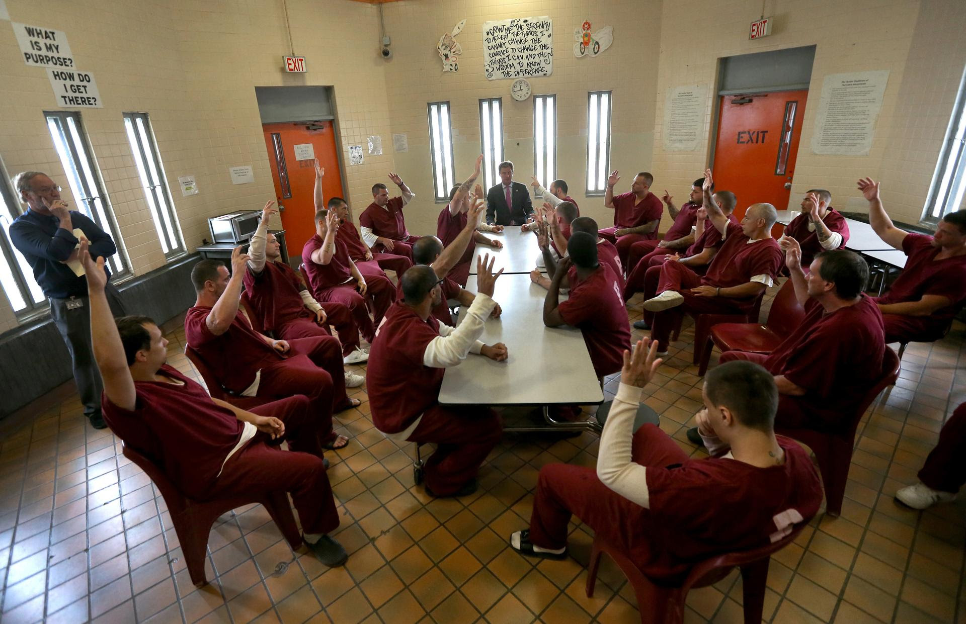 Worcester Jail Helps Inmates Confront Addictions Worcester County