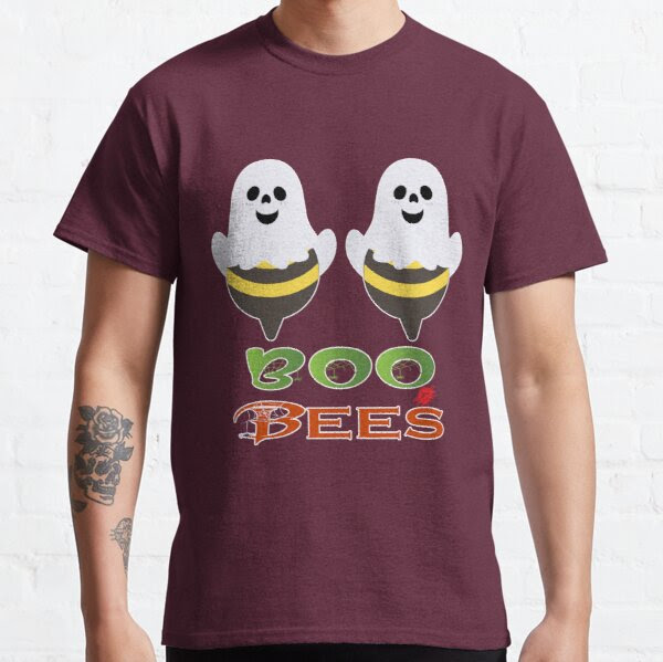 Funny Boo Halloween Bees Love My Boo Ghostly Bees, RBSSP