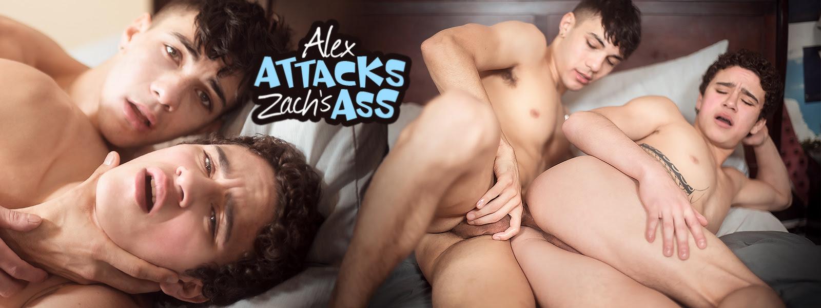 Alex Attacks Zach's Ass