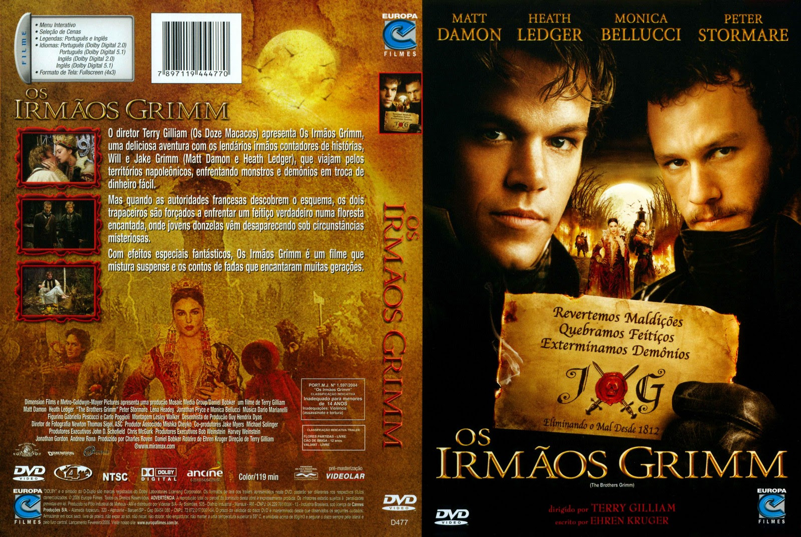 hOn50mp Os Irmãos Grimm Torrent   DVDRip Dual Audio (2005)