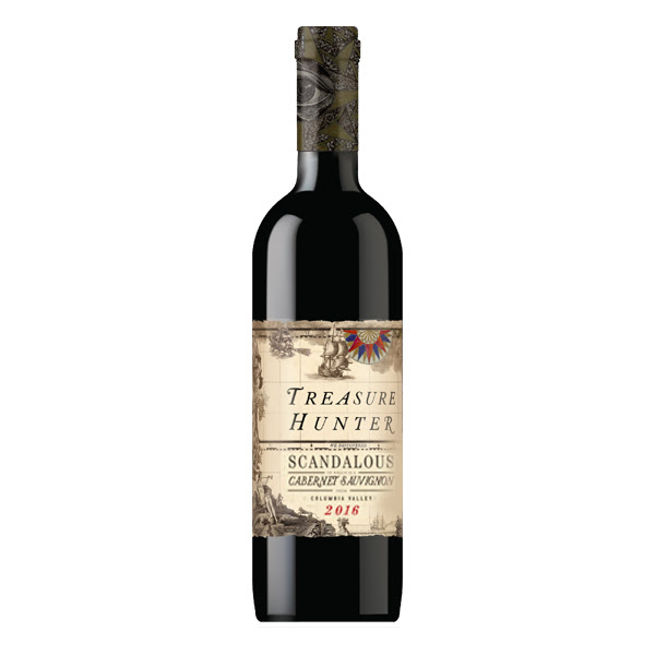 Scandalous 2016 Columbia Valley Cabernet Sauvignon - The Authentic 3 Finger Wine Company