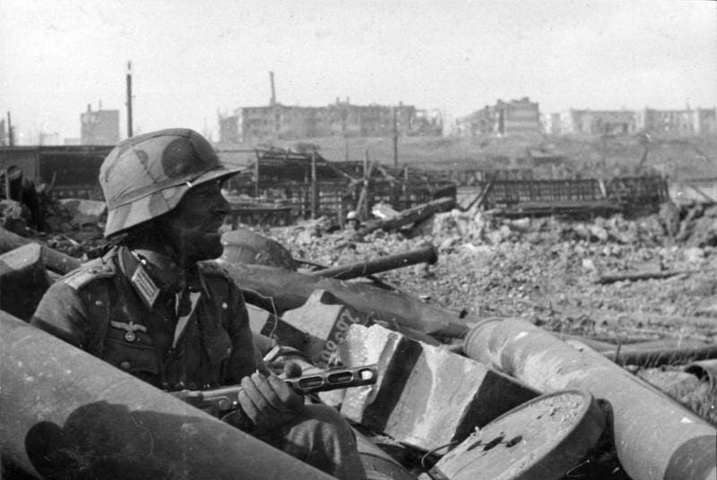 12. The Siege of Stalingrad resulted in more Russian deaths (military and civilian) then theUnited States and Britain sustained (combined) in all of World War II.