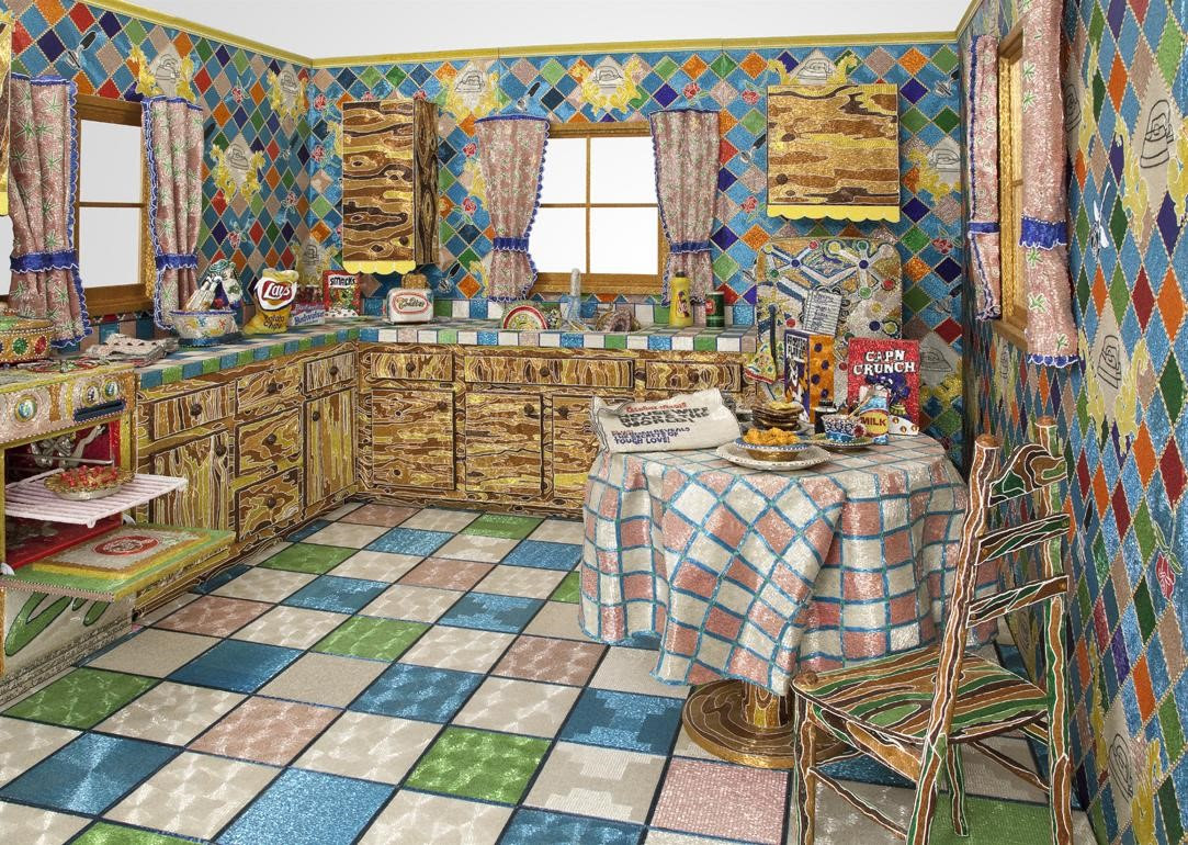 Liza Lou, Kitchen, 1991–96.