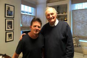 Alan Alda and Michael J. Fox