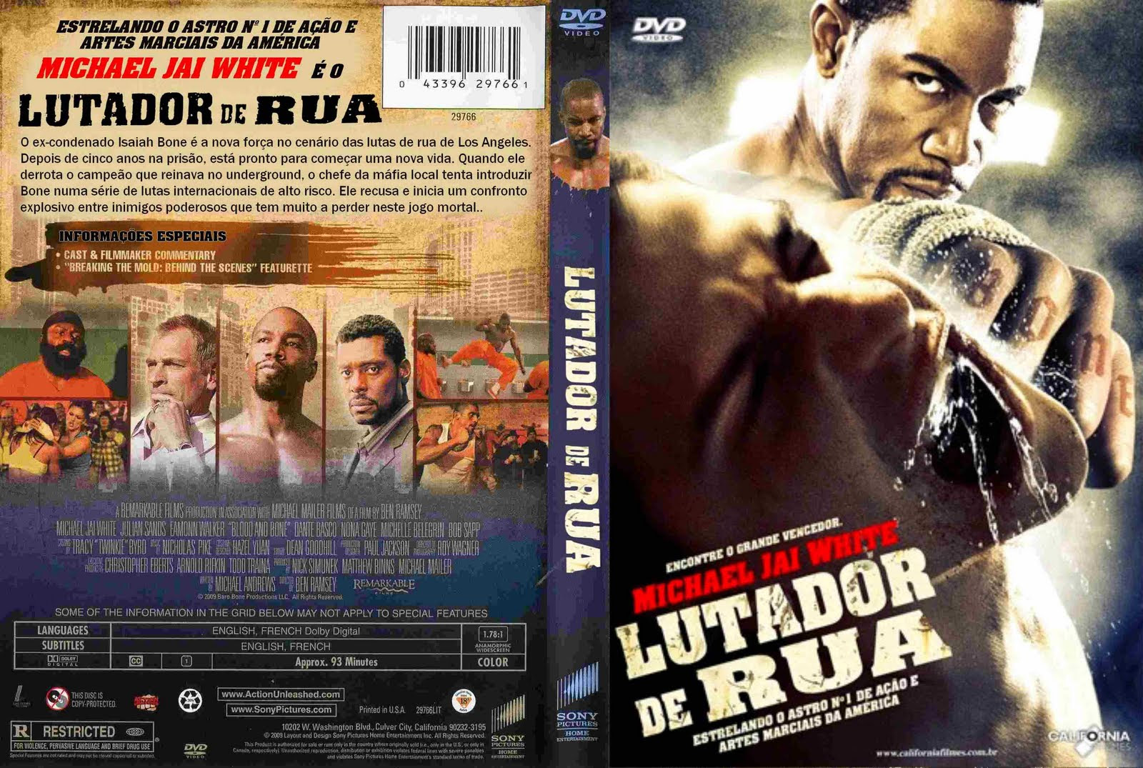 Lutador de Rua Torrent – BluRay Rip 720p Dublado (2009)