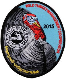 2015 wild turkey cooperator patch