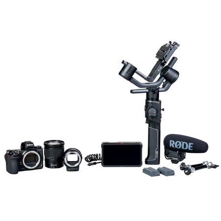 Z 6 24.5MP FX-Format Mirrorless Camera Filmmaker's Kit with NIKKOR Z 24-70mm f/4 S Zoom Le