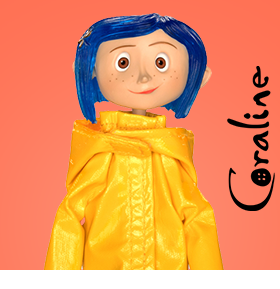 CORALINE ARTICULATED FIGURES