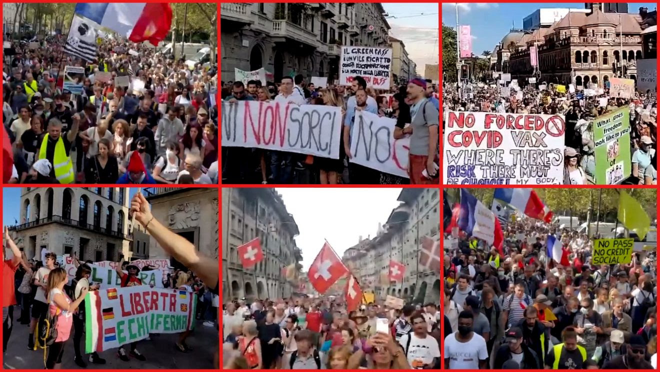 Humanity Rises Against Global Tyranny: August 28, 2021 Worldwide Protests Protests2-1320x743