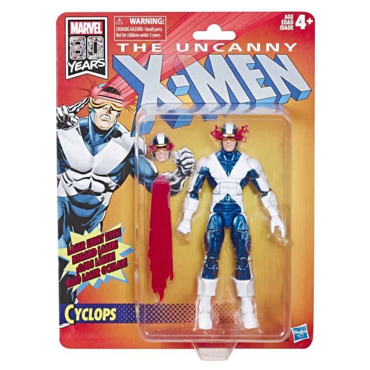 Image of X-Men Retro Marvel Legends 6-Inch Action Figures - Cyclops