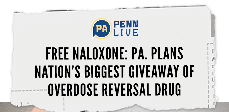 Free naloxone: Pa. plans nation's biggest giveaway of overdose reversal drug