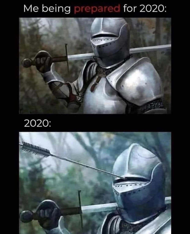 Mercury in Retrograde Ain't Got NOTHIN' on 2020... 1