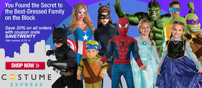 Costume Express Halloween Costumes
