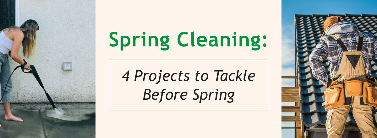 Spring Cleaning Projects