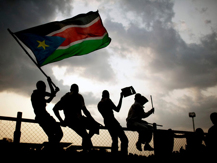 5. South Sudan: 5,500 tourists