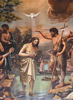 Znalezione obrazy dla zapytania Chrzest Pański