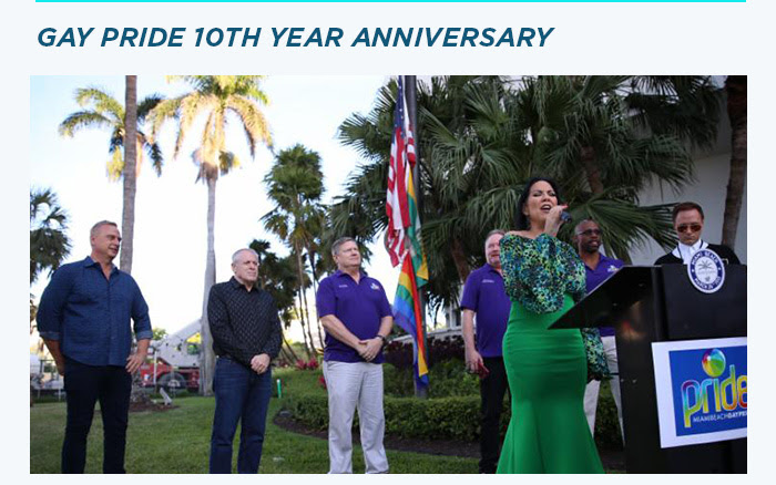 Gay Pride 10th Year Anniversary