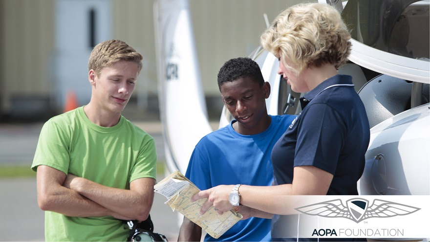 Photo by Chris Rose high school aviation STEM education
