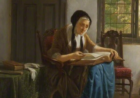 Old_Woman_Reading_Bible