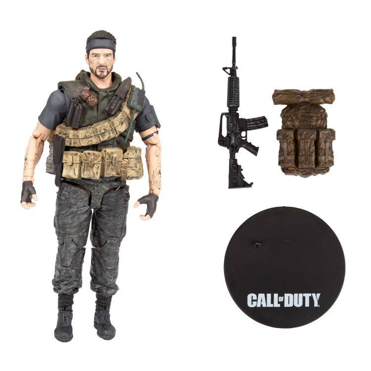 "Image of Call of Duty Frank Woods 7"" Scale Action Figure"