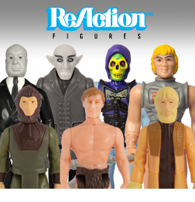 NEW SUPER 7 REACTION FIGURES