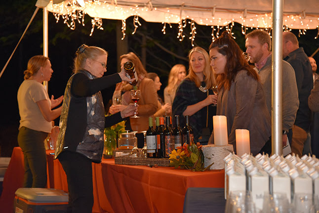 Under the Harvest Moon wine tasting 2018