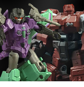 IRON FACTORY FIGURES