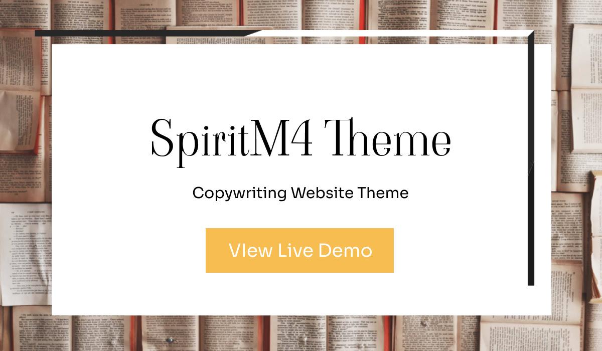 Mobirise SpiritM4 Theme