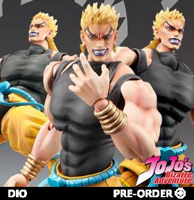 JoJo's Bizarre Adventure Super Action Statue Dio (Awakening Ver.)