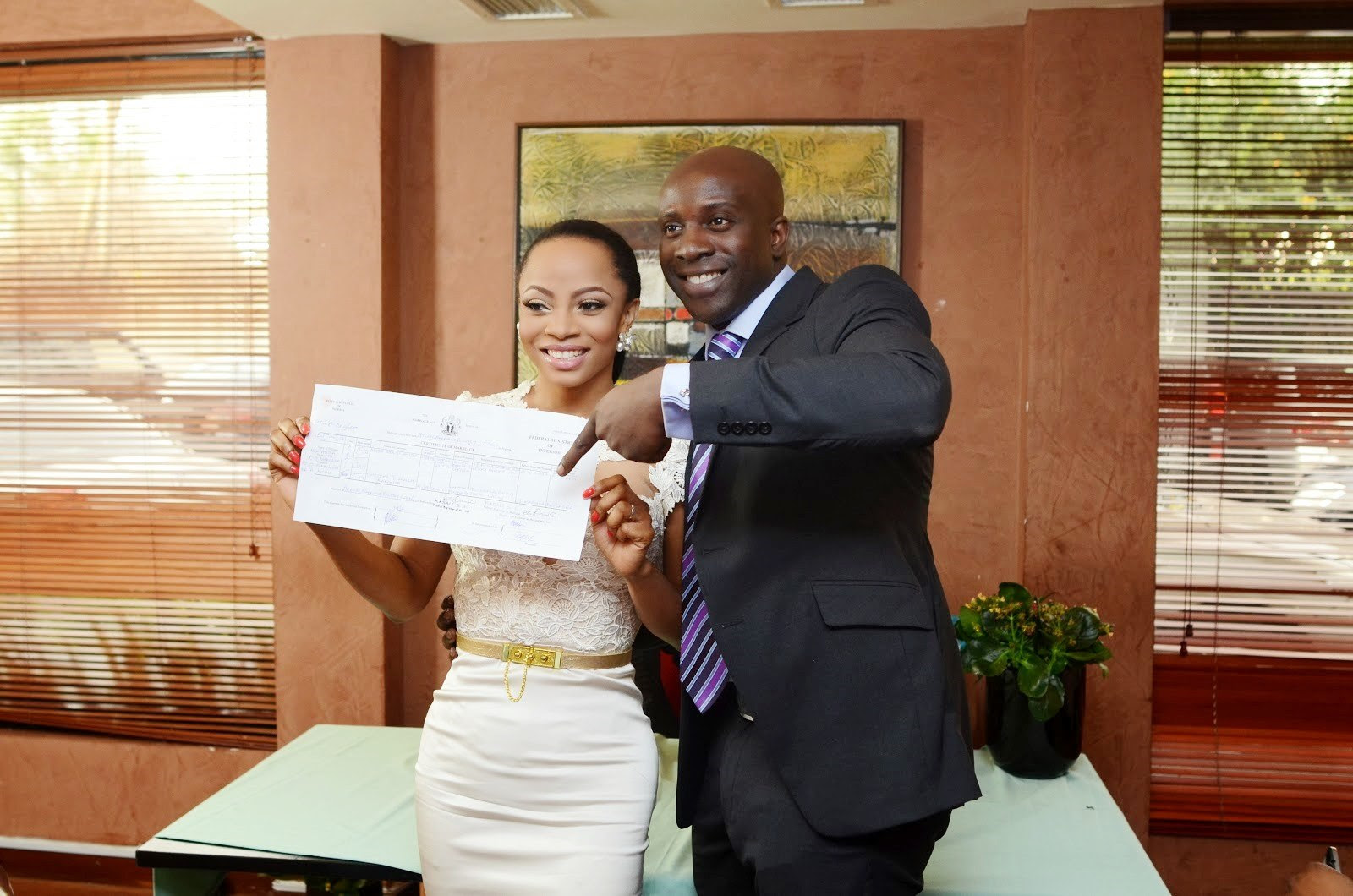 Revelations during the suit against Toke Makinwa shows that the OAP was separated from Maje Ayida six months after wedding.