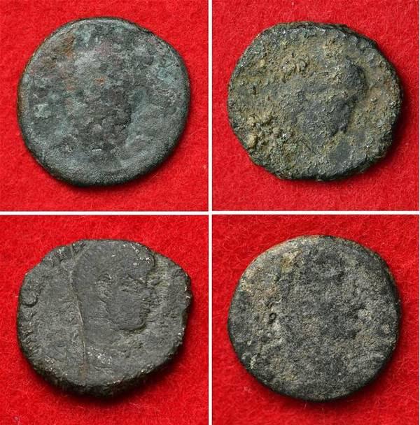 Cuatro antiguas monedas romanas fueron encontradas en Japón. Una razón más para alterar los libros de historia.