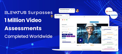 More than 200 of Elevatus' clients successfully assessed a million candidates in 5 different languages with its advanced video interviewing software