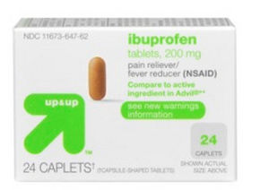 ibuprofen FREE Up & Up Ibuprofen at Target!