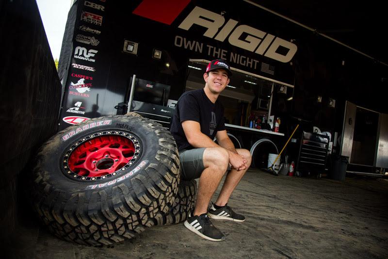 Jerett Brooks, Rigid Industries, Bilstein, General Tire Grabber X3, KMC Wheels, Magnaflow, Off Road, Bink Designs