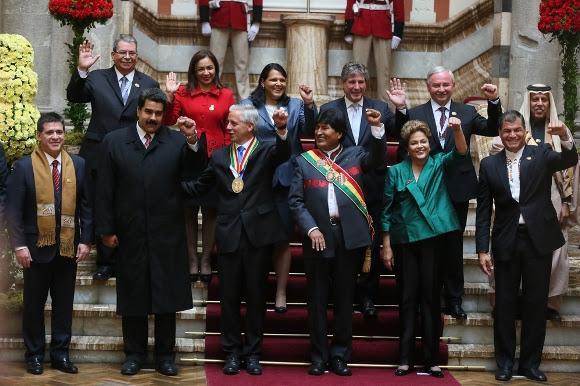 toma de posesión de Evo Morales 14