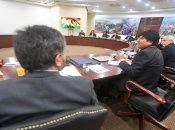 Evo Morales destacó que cuenta con la bendición de Dios para todos los proyecto que pretende emprender este 2019.