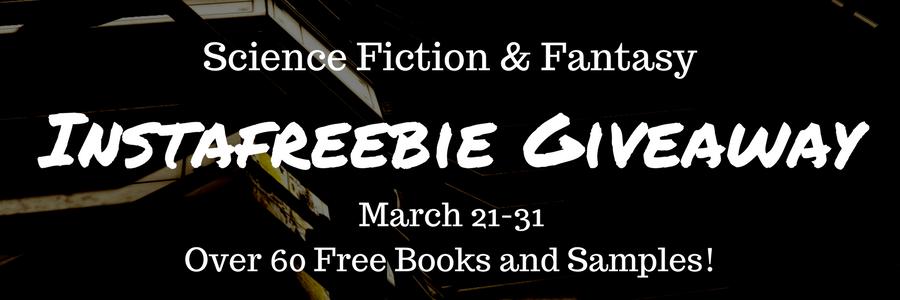 Science Fiction & Fantasy Instafreebie Giveaway