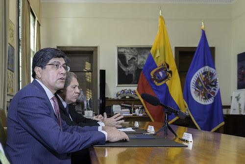 OEA observará el referéndum del 4 de febrero en Ecuador