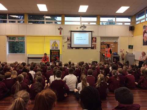 Network Rail visits Bolton school to encourage pupils to become the engineers of the future