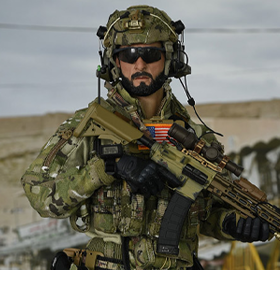 SMU Tier-1 Operator Part XI Quick Response Force 1/6 Scale Figure